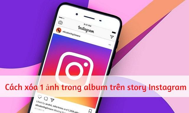 Cách xóa một ảnh hoặc nhiều ảnh trên Instagram