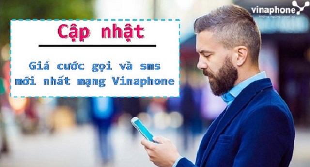 bảng cước gọi và nhắn tin mới nhất của Vinaphone