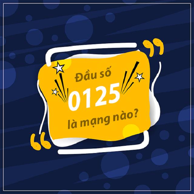 Đầu số 0125 là của mạng nào
