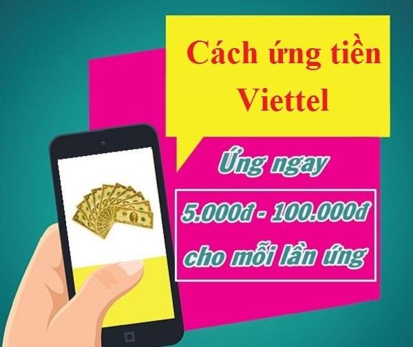 Ứng tiền bằng cách sử dụng App