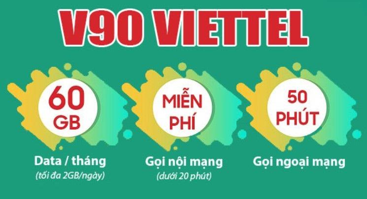 Gói V90 được đăng ký đơn giản qua một tin nhắn