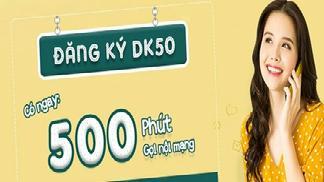 Đăng Ký Gói DK50 Viettel - Nhận Ngay 500 Phút Gọi Miễn Phí