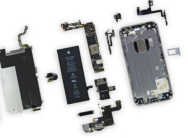 Những linh kiện của iphone 6