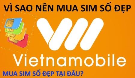 Sim Vietnamobile số đẹp đang được nhiều người tìm mua
